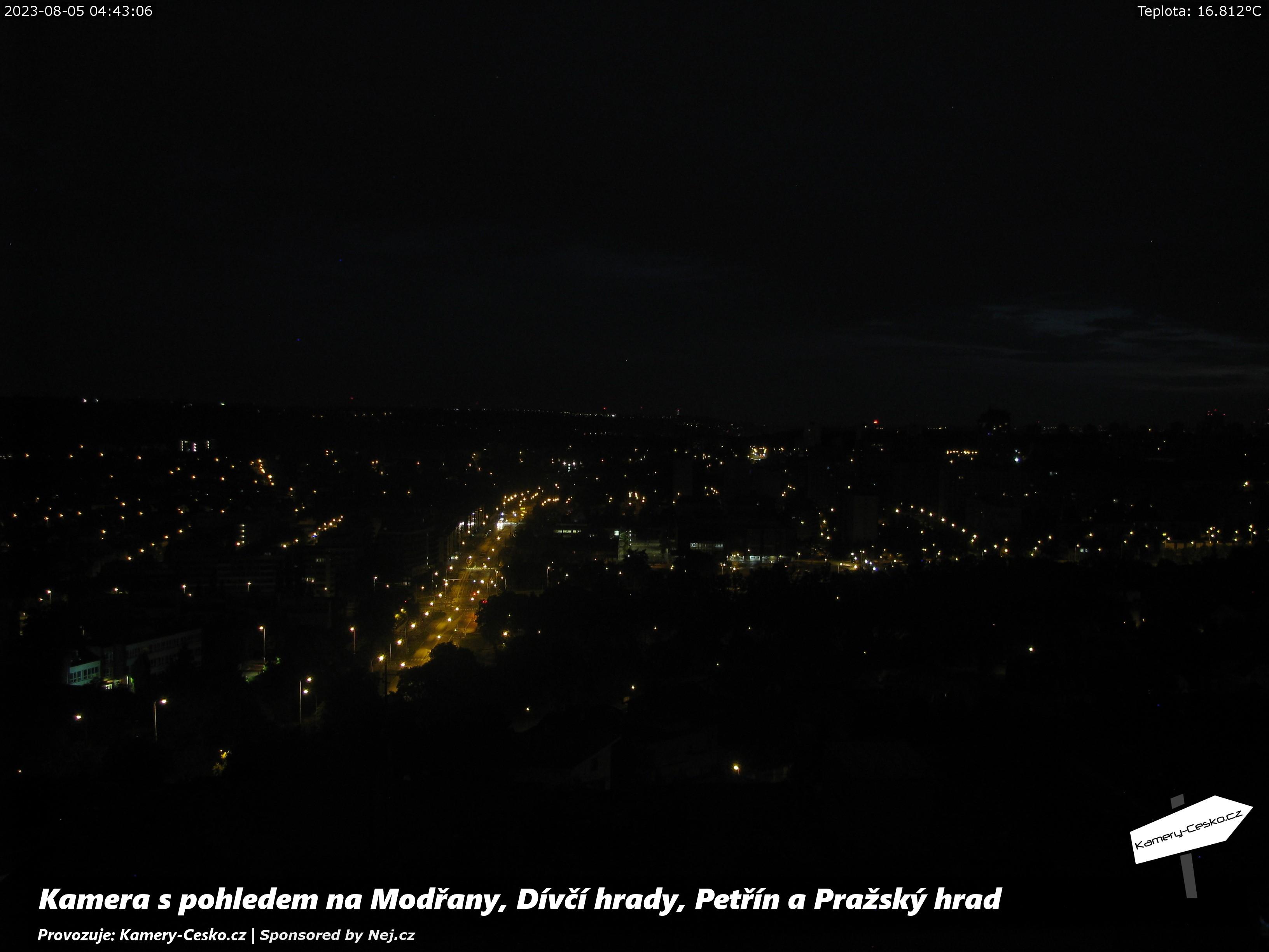 Web kamera Praha ModĹ™any